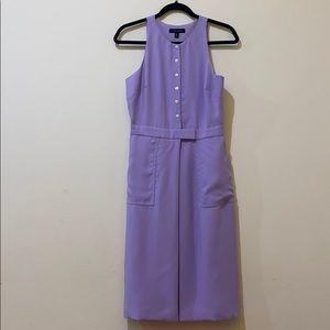 BANANA REPUBLIC Lilac Midi Shift Dress